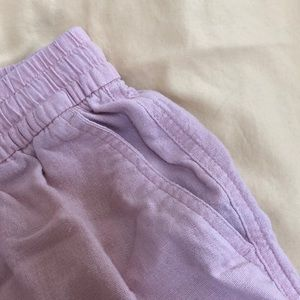 Old Navy Shorts - pink old navy linen shorts